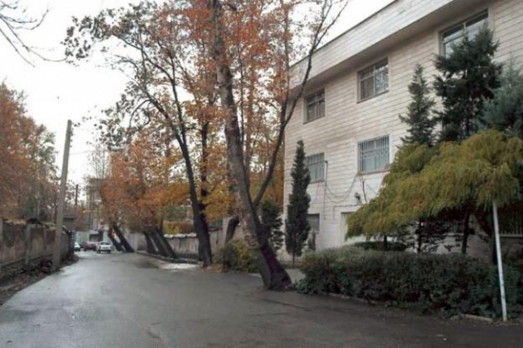 محله رستم آباد تهران ۲نبش