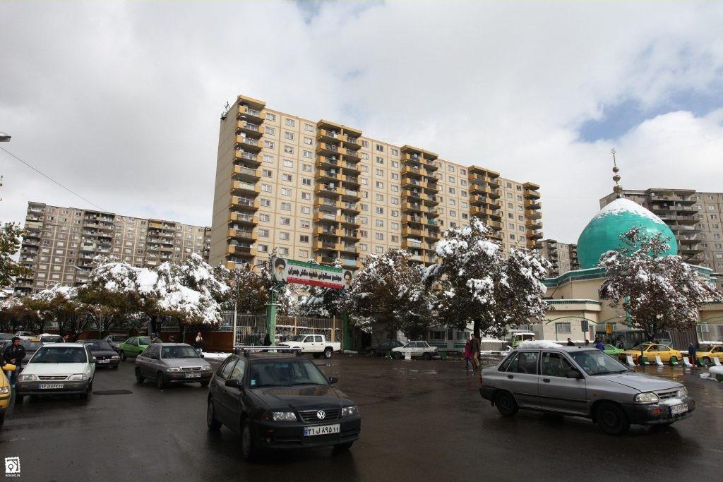 شهرک شهید چمران تهران ۲نبش