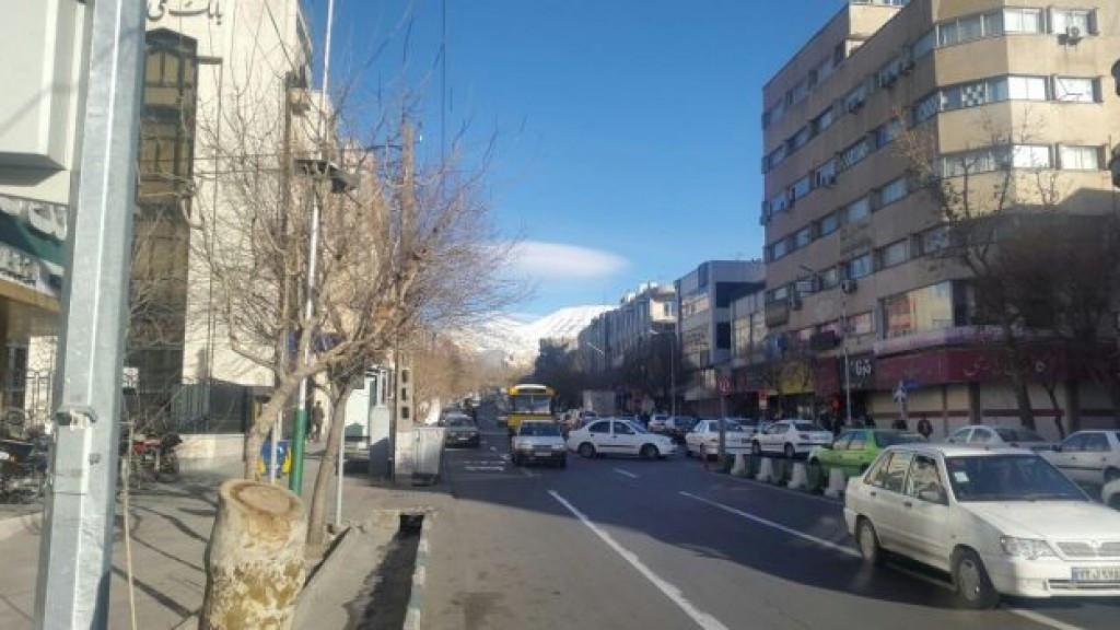 محله امیرآباد تهران ۲نبش