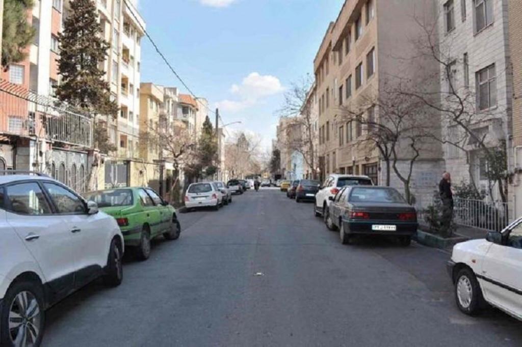 محله دبستان تهران ۲نبش