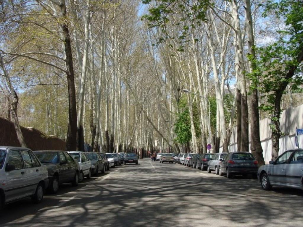 محله مهران تهران ۲نبش