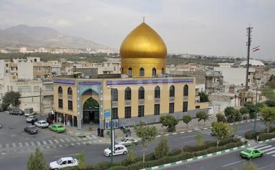 محله دهکده المپیک تهران