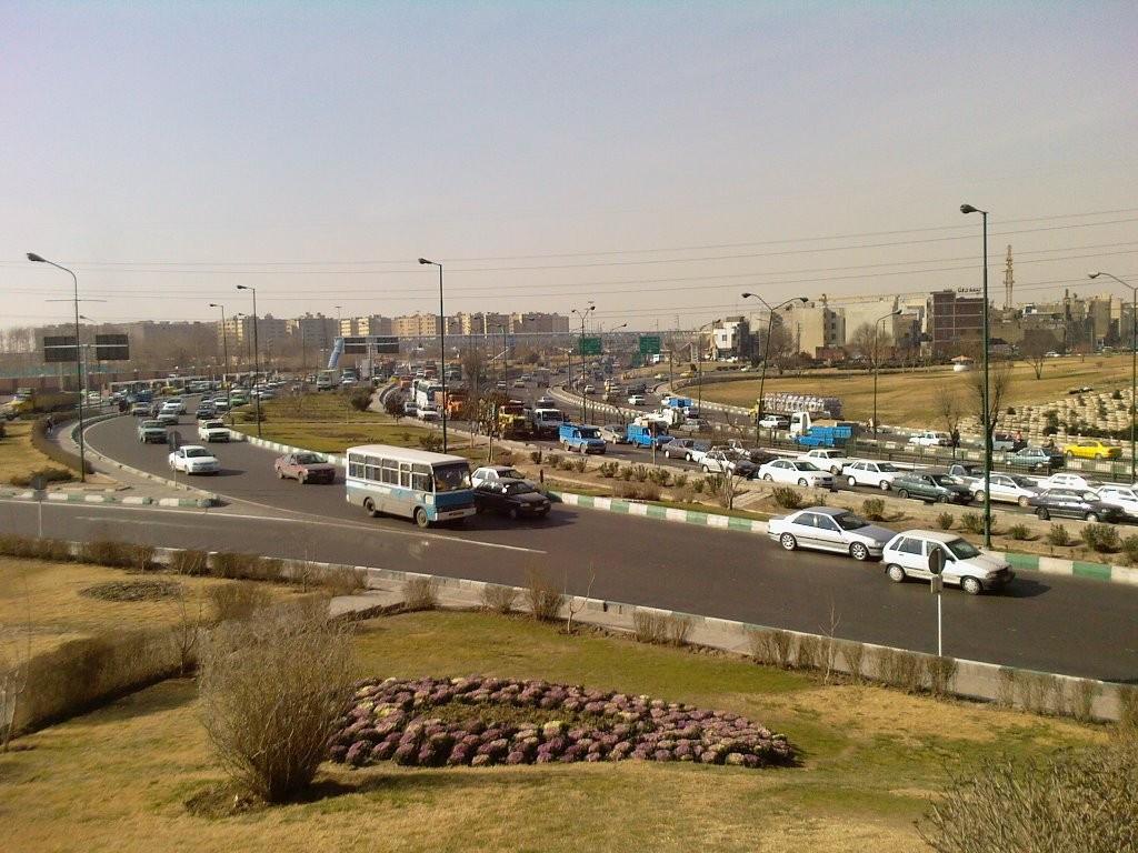 محله افسریه تهران ۲نبش