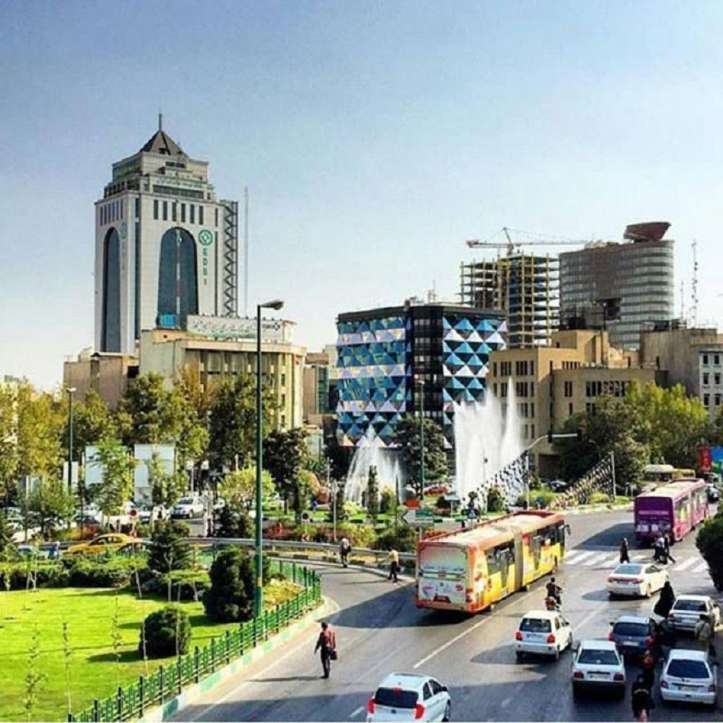 محله آرژانتین تهران ۲نبش