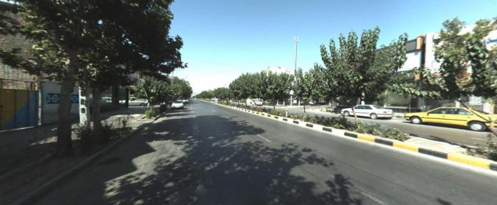 خیابان مطهری شمالی مشهد ۲نبش