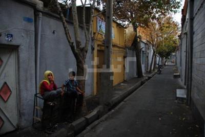 محله باغ آذری تهران ۲نبش