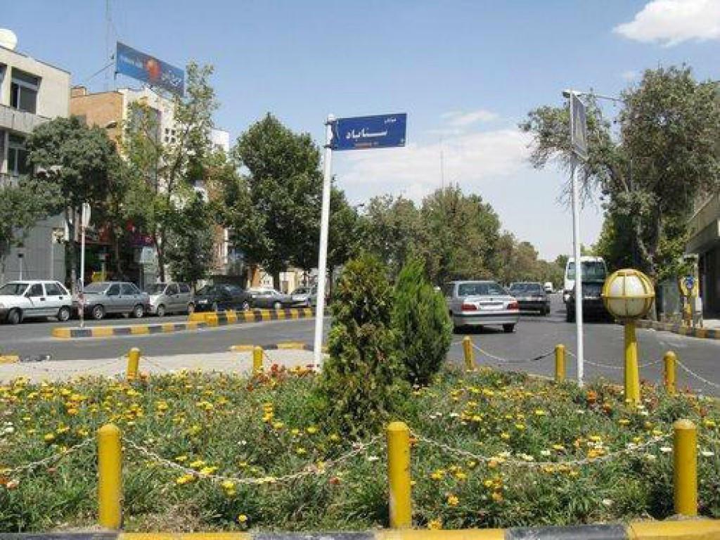 خیابان سناباد مشهد ۲نبش