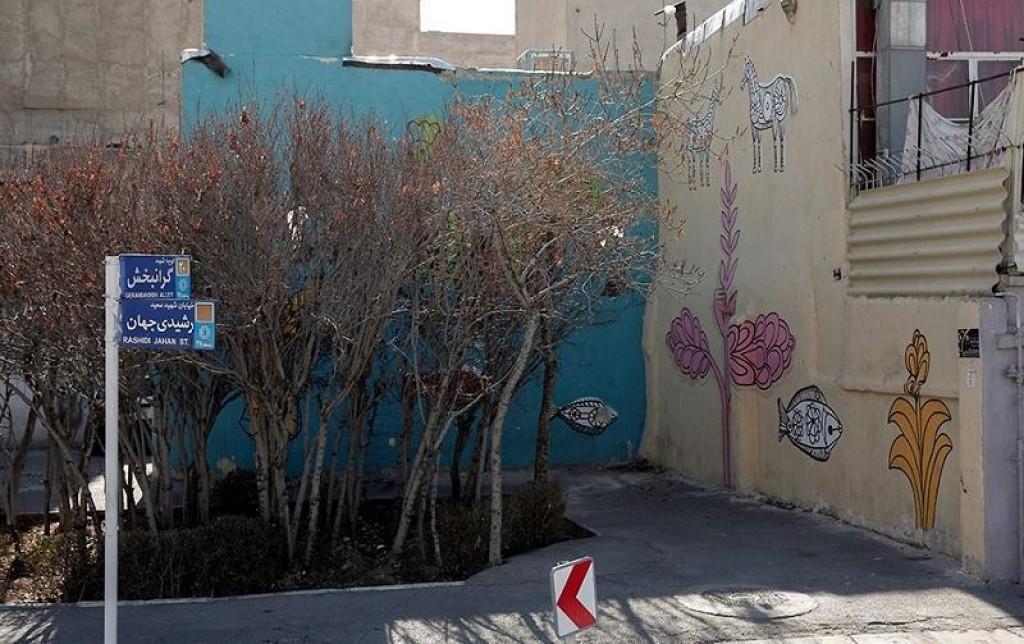 محله شهید پایدارفرد تهران ۲نبش