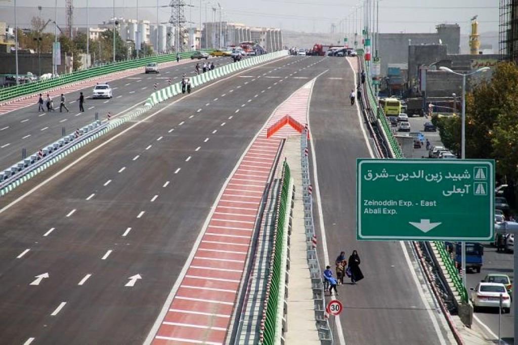 محله بزرگراه شهید زین الدین تهران ۲نبش