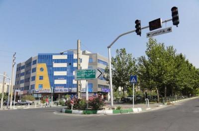 محله بلوار فردوس شرقی تهران ۲نبش