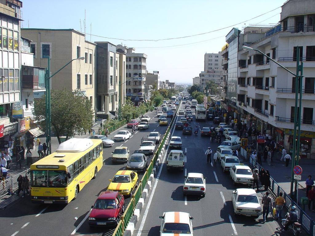 محله پاسداران تهران ۲نبش