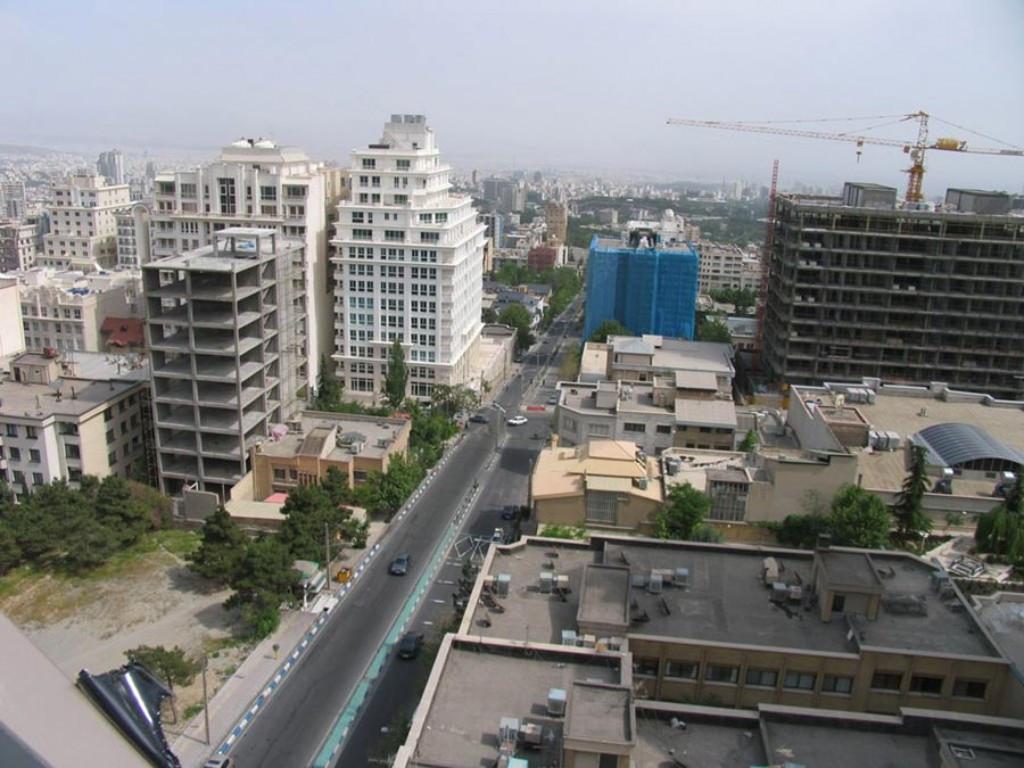 محله ولنجک تهران ۲نبش