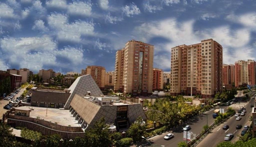 محله قیطریه تهران ۲نبش