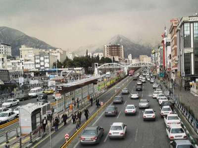 محله پونک تهران