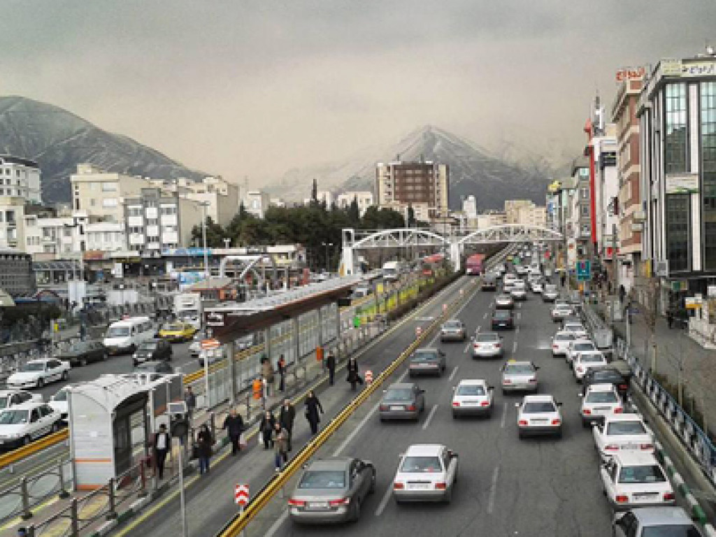 محله پونک تهران ۲نبش