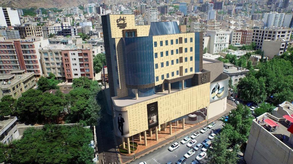 محله نیاوران تهران ۲نبش
