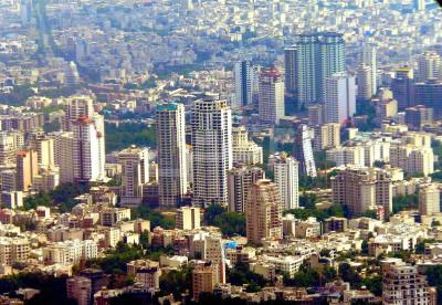 قیمت آپارتمانهای زیر 50 متر در نقاط مختلف تهران ۲نبش