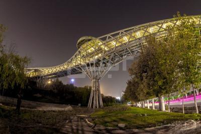 پل طبیعت تهران ۲نبش