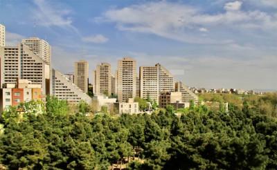 فروش آپارتمان 135 متری، تهران، بلوار 24 متری سعادت آباد، باغ