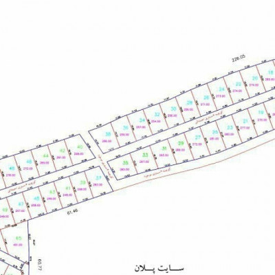 فروش زمین 250 متری، چمستان، امیرآباد، جاده امل
